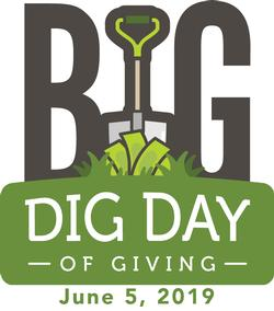 Big Dig Day of Giving June 5, 2019